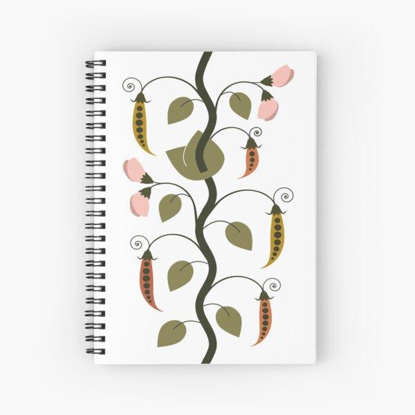 Heritage Peas Spiral Notebook
