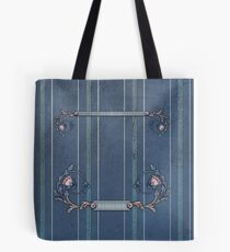 Blue Upholstery Tote Bag