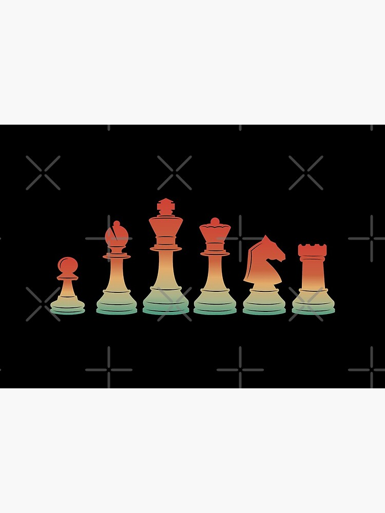 Chess Pieces Retro by playloud