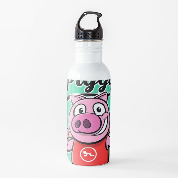 Piggy Chapter Water Bottle Redbubble