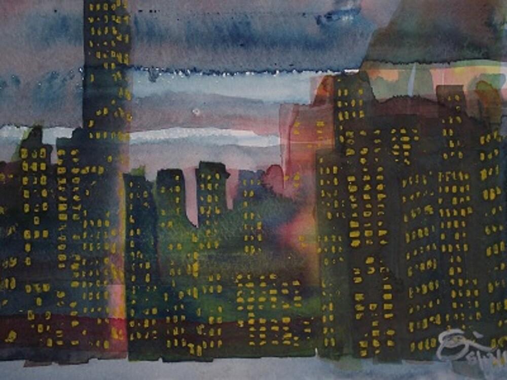 Corporate Sunset by stelrmn