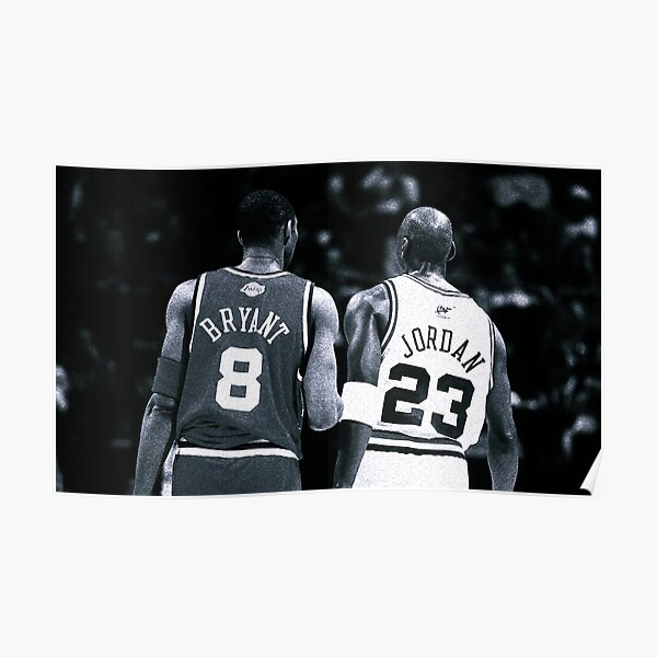 Mike & Kobe Poster