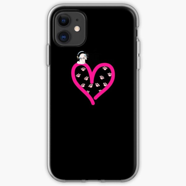 Cavalier King Charles Spaniel Dog in my Heart Paw Love  iPhone Soft Case
