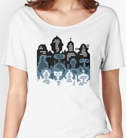 ROBOT CITY! Women's Relaxed Fit T-Shirt