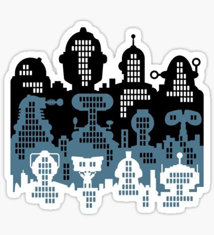 ROBOT CITY! Sticker