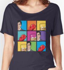 scotch & gummy bears pattern Women's Relaxed Fit T-Shirt