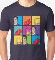 scotch & gummy bears pattern Unisex T-Shirt