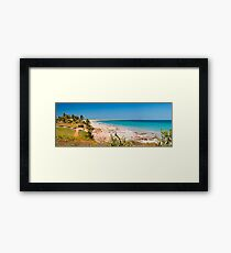 Cable beach panorama Framed Print