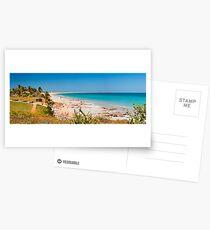 Cable beach panorama Postcards