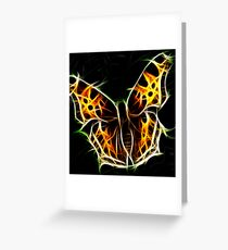 Tigerfly Greeting Card