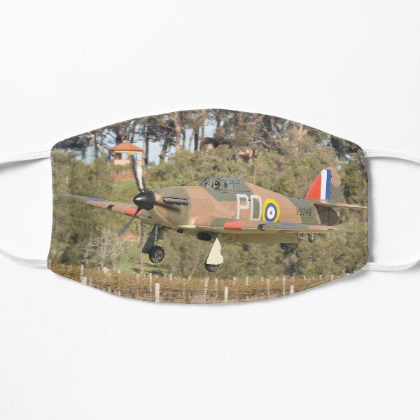 Hunter Valley Airshow 2019 - Hurricane Landing Flat Mask