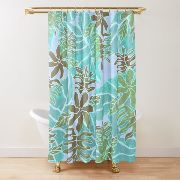 Tiare on Kalo Shower Curtain