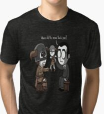 That Poor Traumatized Dovahkiin... Tri-blend T-Shirt