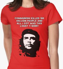 Che Guevara - Communism killed 100 million people Women's Fitted T-Shirt