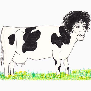 Cow by dinahstubbs