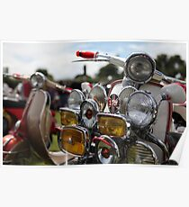 LAMBRETTA TV LIGHTS  Poster