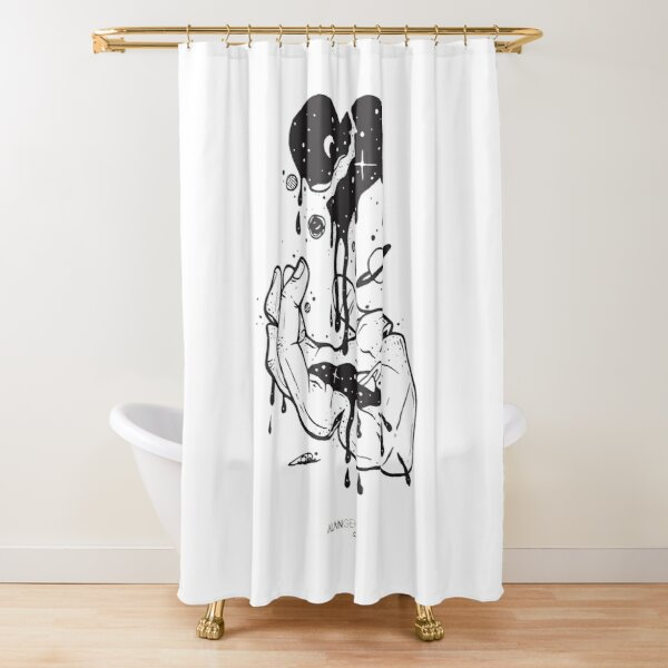 Don't waste your time looking back you're not going that way Shower Curtain