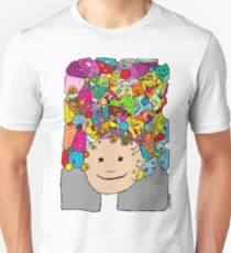 all the world in my head T-Shirt