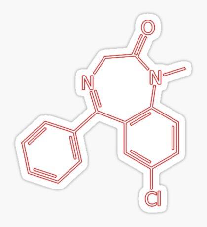 Diazepam Sticker
