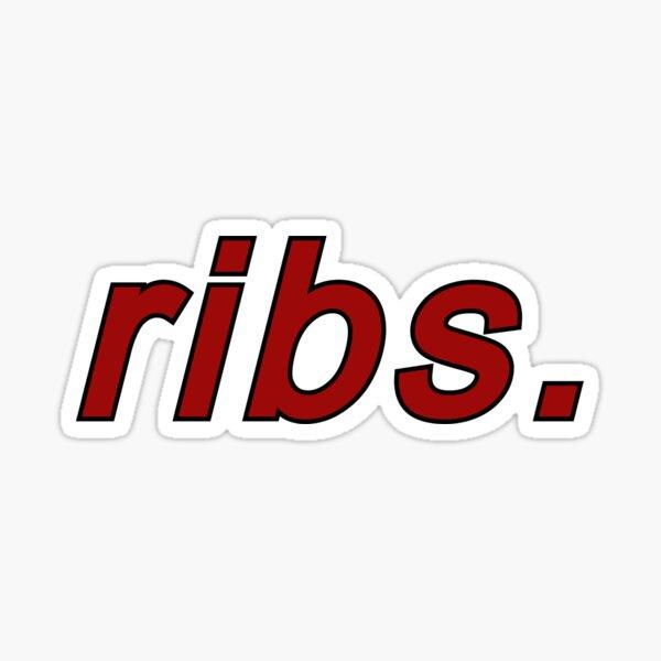 ribs by lorde Sticker