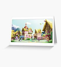 Ponyville, Noon Greeting Card