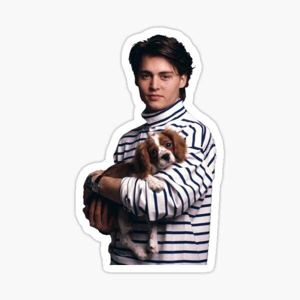 Puppy Depp Sticker