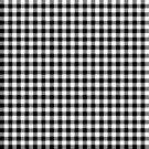 Black And White Plaid Geometric Pattern by artonwear