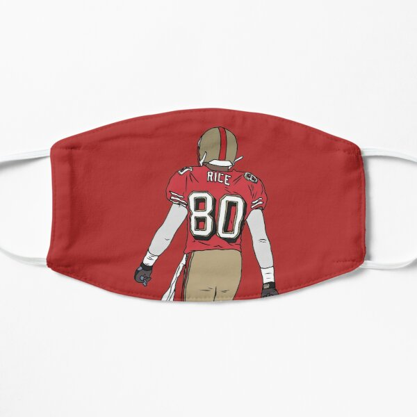 Jerry Rice Back-To Flat Mask