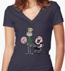 Ricky Gervais show Women's Fitted V-Neck T-Shirt