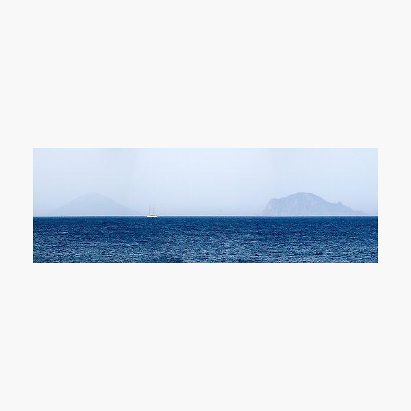 Panarea and Stromboli, Aeolian Islands, Italy Photographic Print