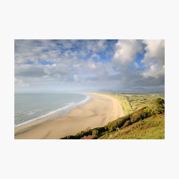 Harlech Beach, mid-Wales Photographic Print