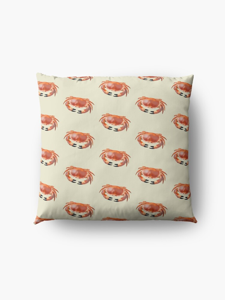 Alternate view of Crab Floor Pillow