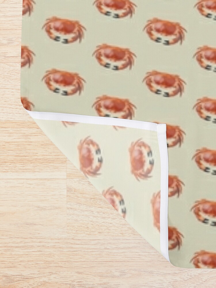 Alternate view of Crab Shower Curtain