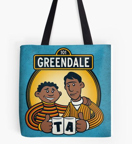 Greendale Street  Tote Bag