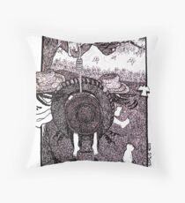 Country Girl: Dizzy Throw Pillow