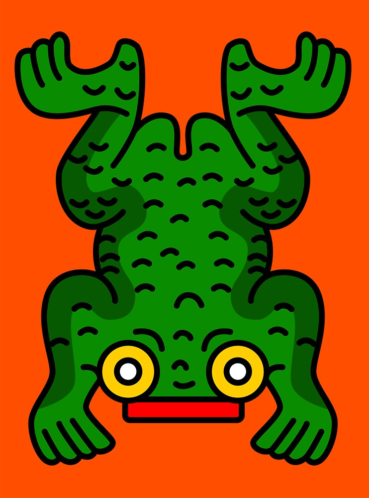 Aztec Frog by Gwendal