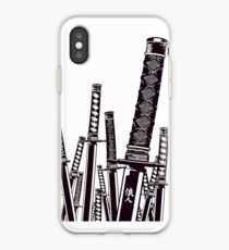 Samurai swords  iPhone Case