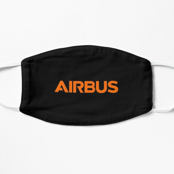 Orange Airbus Logo Mask