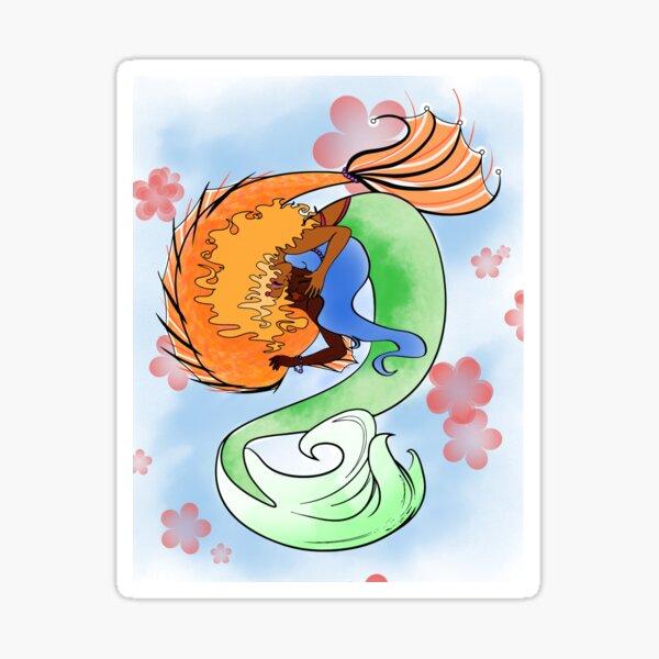 Mermaid GFs Sticker