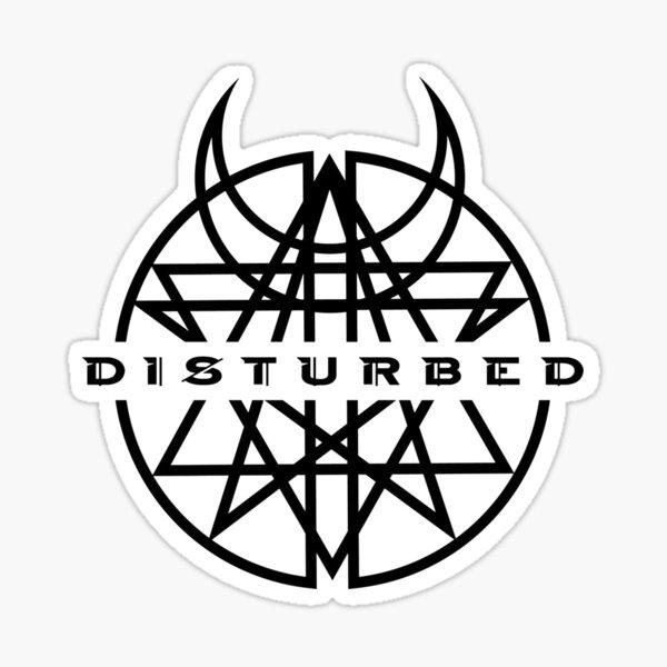 Disturbed Sticker