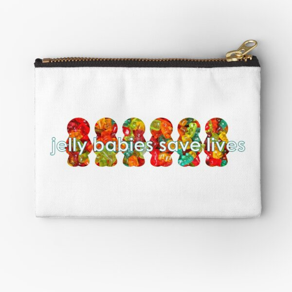 Jelly Babies Save Lives Diabetes Hypo Remedy Linear Zipper Pouch