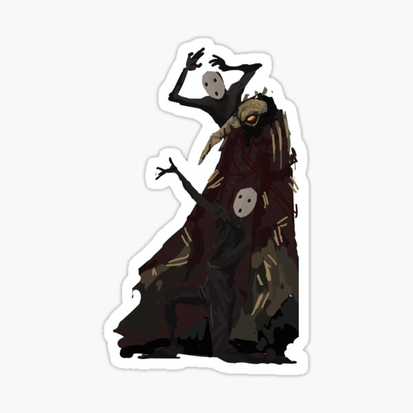 Tragedians and Executor Sticker