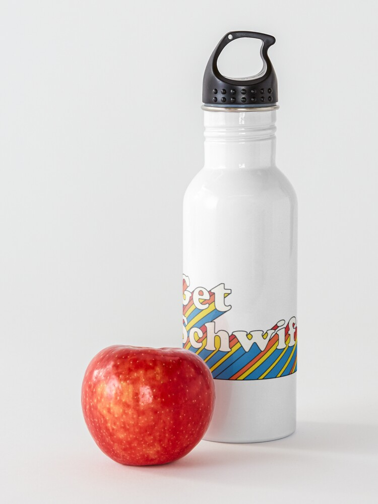 Alternate view of Rick and Morty : Get Schwifty  Water Bottle