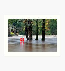 The Lune Flooded Art Print