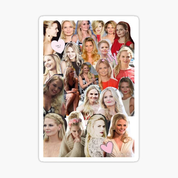 Jennifer Morrison - Collage Sticker