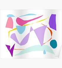 Cool Raindrop Wind Cold Meaning Words Poster