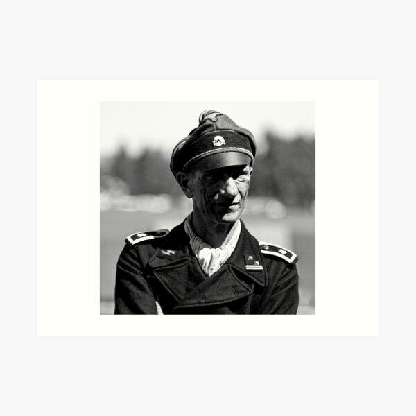 Panzer Crewman Art Print
