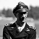 Panzer Crewman by Peter Lawrie