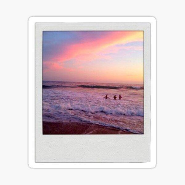 Sunset Polaroid  Sticker