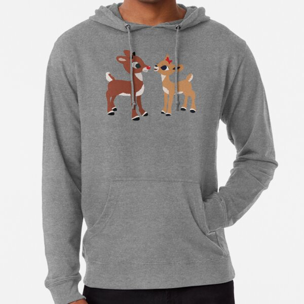 Classic Rudolph and Clarice Lightweight Hoodie
